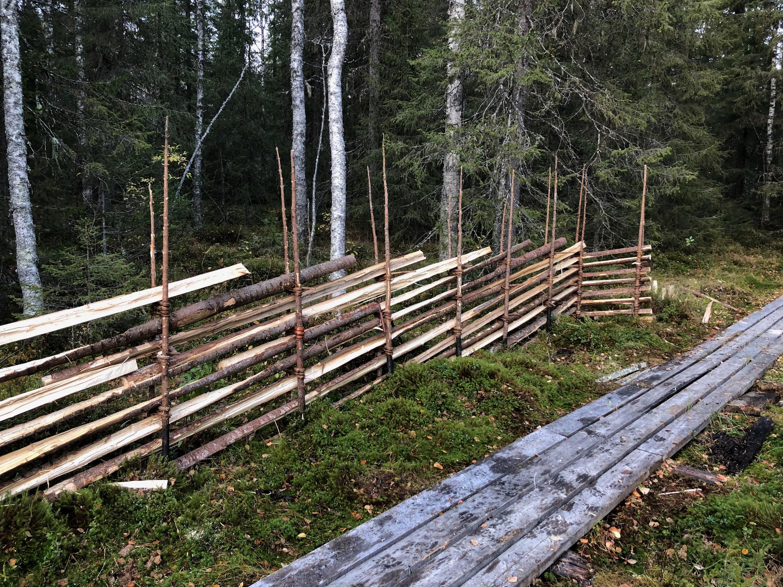 Gärdsgårdsmodell Roslag, Lillsjöslåttern