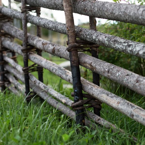 Markförhållanden vid gärdsgårdsbygge